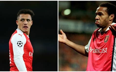 alexis sanchez statue take his statue down arsenal fans furious with henry