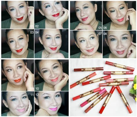 Lipstik Sariayu Duo Lip Colour sponsored review sariayu duo lip color complete swatches