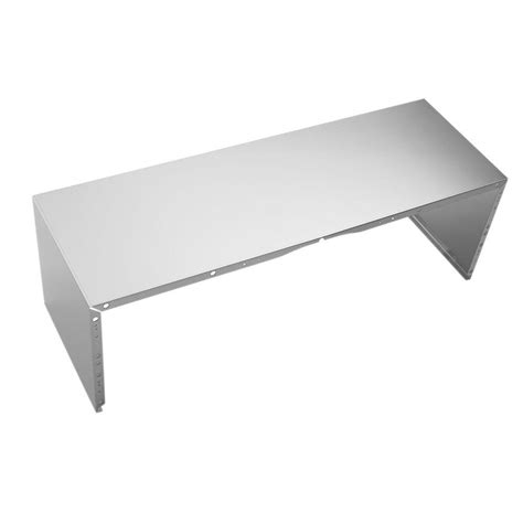 stainless steel cover 36 in stainless steel duct cover for wall mounted range