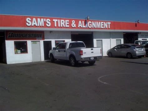 sams alignment  tire center tires hawthorne ca yelp