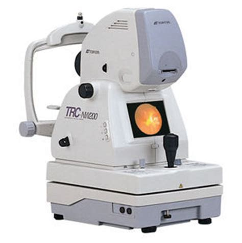 fundus camera used topcon trc nw200 fundus camera for sale dotmed