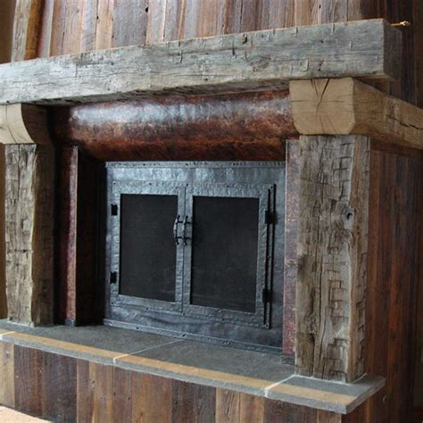 Metal Fireplace Mantel by Pin Custom Fireplace Mantels Wood Built By On