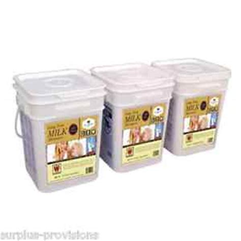 Dehydrated Shelf by Wise Dehydrated Milk 360 Serving Term Food Storage