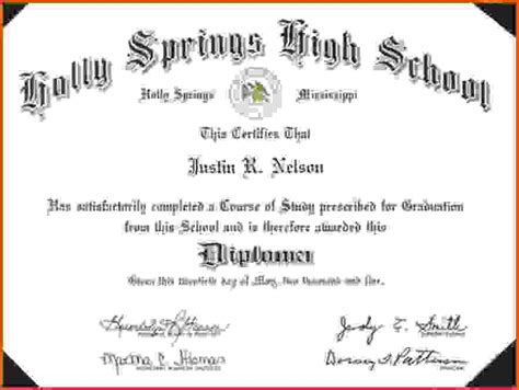high school diploma templates for free high school diploma template free freemium