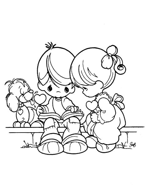 amazing coloring pages precious moments coloring pages