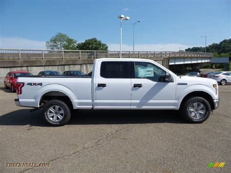 ford truck white 2015 ford f150 xlt supercrew 4x4 in oxford white d40331