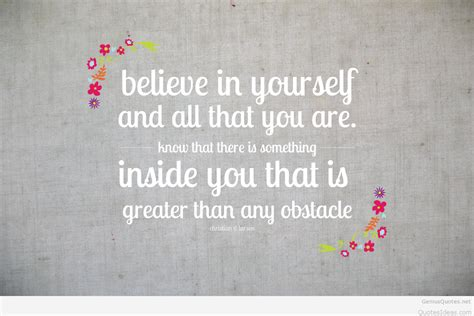 believing in yourself quotes believe in yourself quote on success