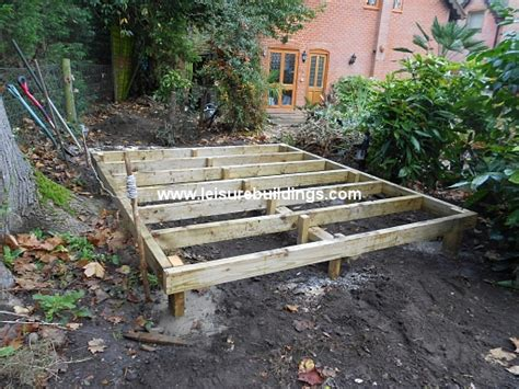 tifany blog  week   build  shed floor  uneven
