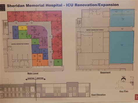 Icu Floor Plan | ceremonies held for hospital icu sheridanmedia com