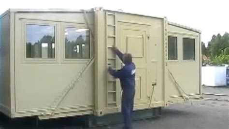 Transforming And Expanding Shipping Container Shelters Expandable Tiny House
