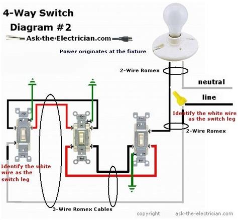 four wire switch leg diagram 24v wiring diagrams wiring