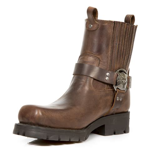 brown leather biker boots brown leather motorcycle boots