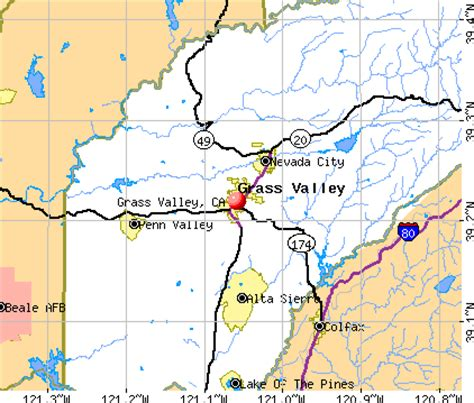 california map grass valley grass valley california map california map