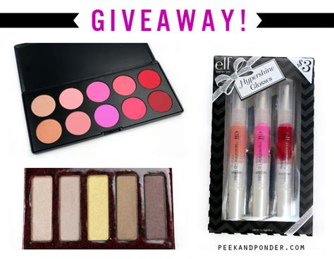 Makeup Giveaways 2014 - beauty giveaway lorac elf bh cosmetics