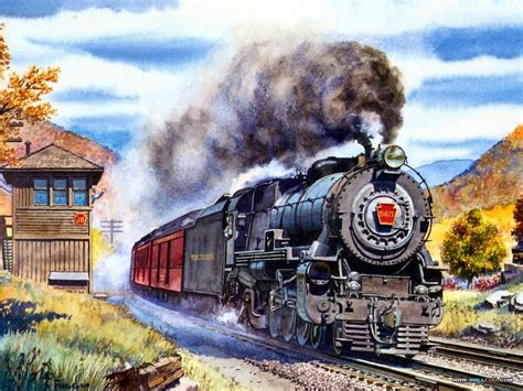 painting trains trains painting