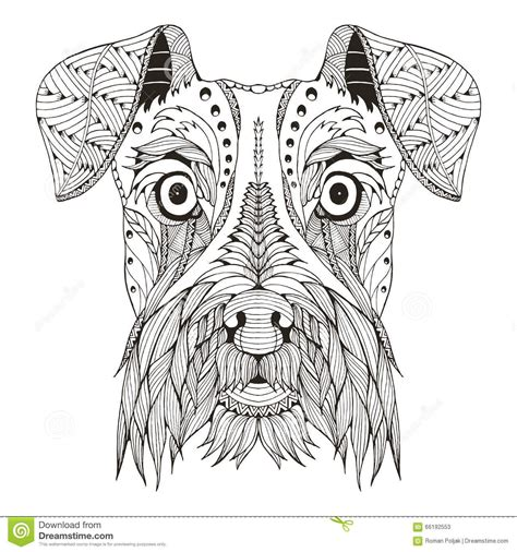 mandalas con animales 7 p perros zentangle buscar con google mandala pinterest