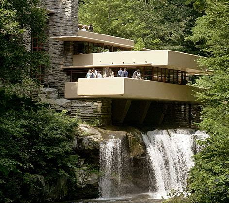 frank lloyd wright waterfall frank lloyd wright s quot falling water quot house yes it does