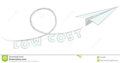 fly low cost vector royalty free stock photography image 21230007