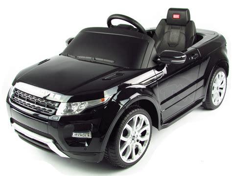 range rover evoque  kids electric car
