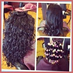 wave perm hairstyle before and after on hair long hair perms before and after with regard to glamour