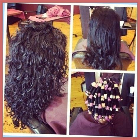 body wave perm before after long hair perms before and after with regard to glamour