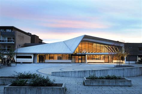 the culture house vennesla library and culture house helen hard archdaily