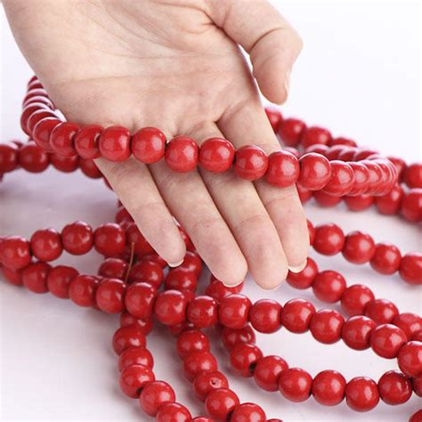wood cranbery beads for christmas trees cranberry bead garland garlands and winter crafts