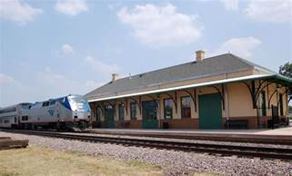 Amtrak Tx Mineola Tx Amtrak S Eagle At Historic Mineola