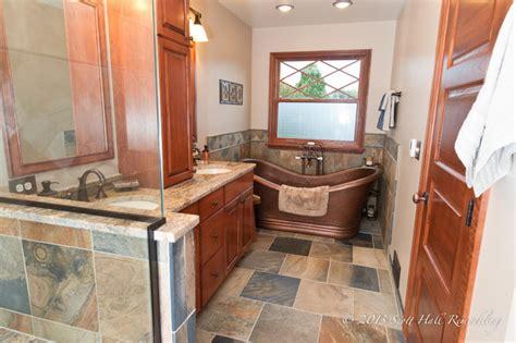 bathroom fixtures columbus ohio copper soaking tub master bath traditional bathroom