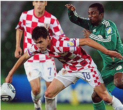 Kroasia Vs Nigeria Nigeria Defeats Croatia 5 2 To Quarter Finals