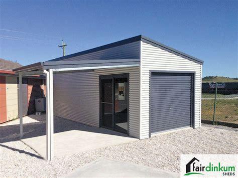 skillion roof shedsgarages designs fair dinkum sheds
