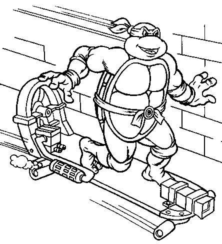ninja turtle coloring pages full size coloring pages ninja turtles picture 4