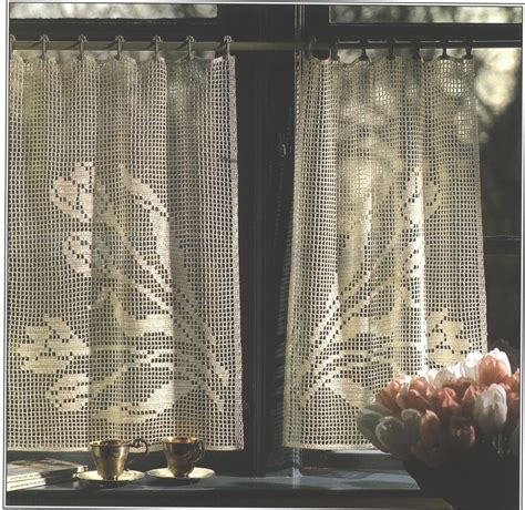 patterns for curtains free crocheted curtain patterns easy crochet patterns