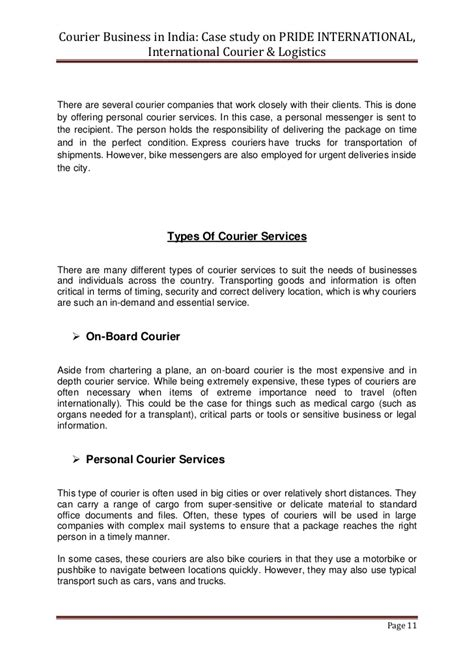 Introduction Letter Of Courier Company Courier Business In India Copy