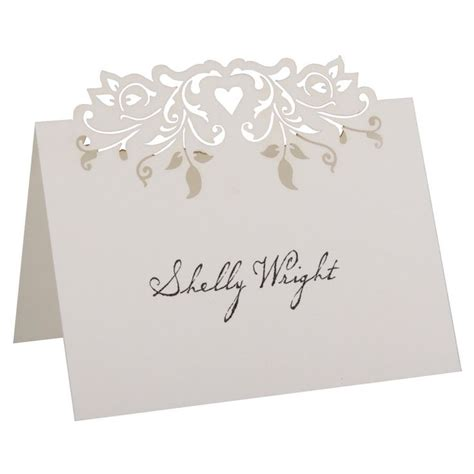 cricut place card template 25 best ideas about place card template on