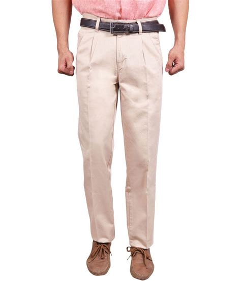 Nexx 33 Pajamas Code A studio nexx beige cotton regular fit trouser buy