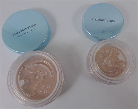 Bareminerals Mineral Veil Finishing Powder Broad swatch and review bareminerals remix