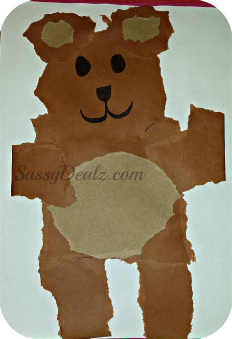 bear pattern for kindergarten bear crafts for kindergarten www imgkid com the image