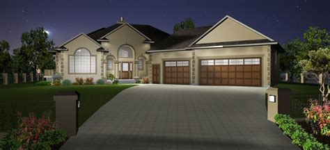 3 car garage house plans by edesignsplans ca 7