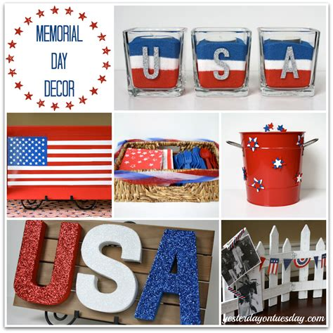 Diy Memorial Day Decorations by Memorial Day Crafts Archives Yesterday On Tuesday