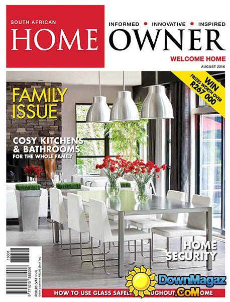 home design magazines south africa south african home owner august 2016 187 download pdf