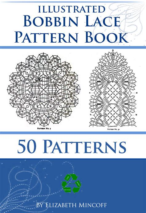 how to make bobbin lace pattern book illustrated 287 pages