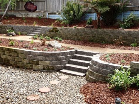 pictures of sloped backyard landscaping ideas design ideas landscaping ideas backyard yelp new york