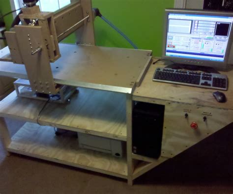 homemade  wood cnc router