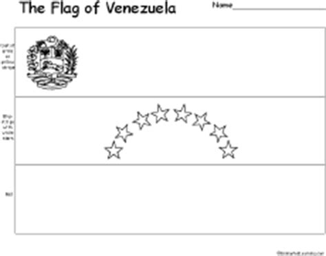 coloring page of venezuela flag venezuela s flag enchantedlearning com