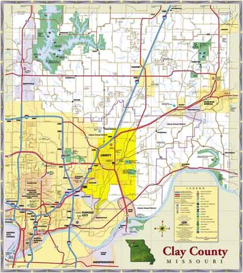missouri map clay county clay county presiding commissioner candidates to see