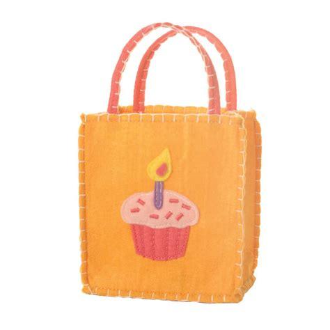 orange cupcake goodie bag ecopartytime