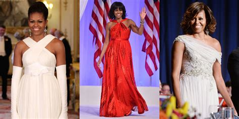 michelle obama gowns michelle obama s 45 best formal dresses and gowns