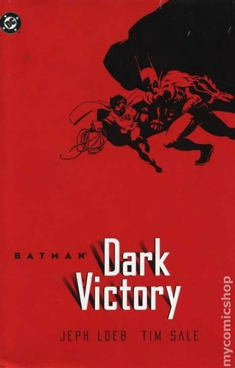 batman dark victory batman dark victory hc 2001 comic books