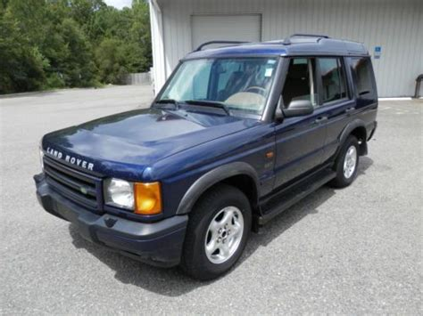 how cars run 2001 land rover discovery lane departure warning buy used 2001 land rover discovery series ii se sport utility 4 door 4 0l in jacksonville
